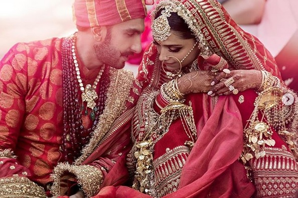 Deepika Ranveer Wedding Photos In HD